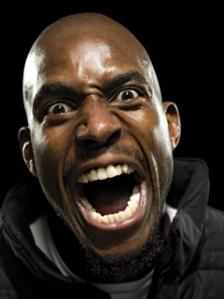 kg yelling